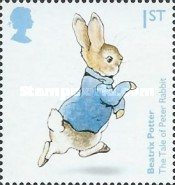 [The 150th Anniversary of the Birth of  Beatrix Potter, 1866-1943, Typ DNZ]