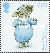 [The 150th Anniversary of the Birth of  Beatrix Potter, 1866-1943, Typ DOD]
