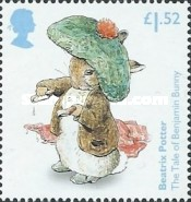 [The 150th Anniversary of the Birth of  Beatrix Potter, 1866-1943, Typ DOE]