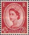 [Queen Elizabeth II - Black Lines on Back, Typ DV16]