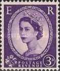 [Queen Elizabeth II - Black Lines on Back, Typ DV18]