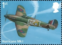 [The 100th Anniversary of the RAF - Royal Air Force, type DVT]