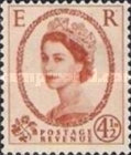 [Queen Elizabeth II - Black Lines on Back, Typ DW7]