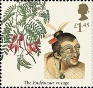 [Captain James Cook, 1728-1779 - The Voyage of the Endeavour, Typ DXW]
