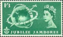 [The 50th Anniversary of the Boy Scout Movement and World Scout Jubilee Jamboree, Typ ED]