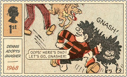 [Dennis and Gnasher, type ENT]