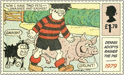 [Dennis and Gnasher, type ENV]