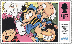[Dennis and Gnasher, type ENW]