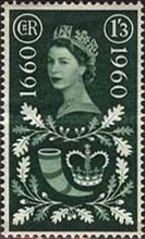 [The 300th Anniversary of the Act Establishing the General Post Office test, Typ EO]