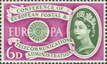 [EUROPA Stamps - The 1st Anniversary of the Establisment of CEPT, Typ EP]