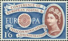 [EUROPA Stamps - The 1st Anniversary of the Establisment of CEPT, Typ EP1]