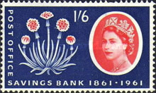 [The 100th Anniversary of the Post Office Savings Bank, type ER]