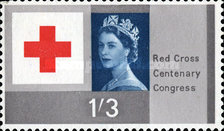 [The 100th Anniversary of Red Cross, Typ FJ]
