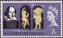 [The 400th Anniversary of the Birth of William Shakespeare, Typ FM]