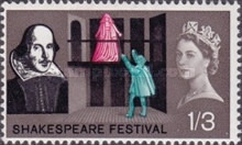 [The 400th Anniversary of the Birth of William Shakespeare, Typ FO]