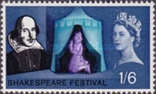 [The 400th Anniversary of the Birth of William Shakespeare, Typ FP]