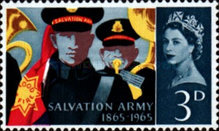 [The 100th Anniversary of the Salvation Army, Typ FV]