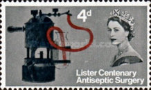 [The 100th Anniversary of the Introduction of Antiseptic Surgery by Joseph Lister, Typ FX]