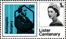 [The 100th Anniversary of the Introduction of Antiseptic Surgery by Joseph Lister, Typ FY]