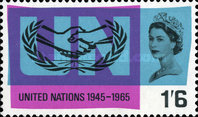 [The 20th Anniversary of the UN and International Cooperation Year, Typ GM]