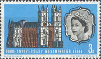 [The 900th Anniversary of Westminster Abbey, Typ GR]