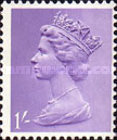 [Definitives - Queen Elizabeth II - A: 2-Band Phosphor, B: Centre Band Phosphor, Typ IB1]