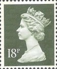 [Queen Elizabeth II - From Booklets, Phosphor Band, Typ IB113]