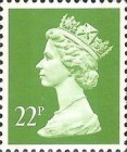 [Queen Elizabeth II - From Booklets, Phosphor Band, Typ IB114]