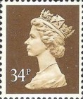 [Queen Elizabeth II - From Booklets, Phosphor Band, Typ IB115]