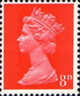 [Definitives - Queen Elizabeth II, type IB12]