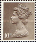[Definitives - Queen Elizabeth II, type IB13]