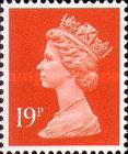 [Queen Elizabeth II - From Booklets, Phosphor Band, type IB143]