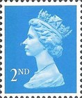 [Queen Elizabeth II - No.90 & 91, Perf: 14 and Phosphor Band, type IB154]