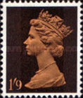 [Definitives - Queen Elizabeth II - A: 2-Band Phosphor, B: Centre Band Phosphor, Typ IB2]