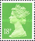 [Queen Elizabeth II - From Booklet, Imperforated Top or Bottom, type IB205]