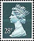 [Queen Elizabeth II - From Booklet, Imperforated Top or Bottom, type IB209]