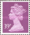 [Queen Elizabeth II - From Booklet, Imperforated Top or Bottom, Typ IB212]