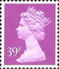 [Queen Elizabeth II - From Booklet, 2-Band Phosphor, type IB213]