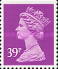 [Queen Elizabeth II - From Booklet, 2-Band Phosphor, Typ IB214]