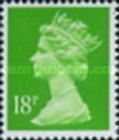 [Queen Elizabeth II - From Booklet, 2-Band Phosphor, type IB216]