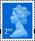 [Definitive Issue - Self-Adhesive Stamps with 2-Band Phosphor - Security Pattern Lettering in Background, Typ IB308]