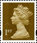 [Definitive Issue - Self-Adhesive Stamps with 2-Band Phosphor - Security Pattern Lettering in Background, Typ IB309]
