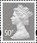 [Definitive Issue - Self-Adhesive Stamps with 2-Band Phosphor - Security Pattern Lettering in Background, Typ IB311]