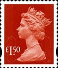 [Definitive Issue - Self-Adhesive Stamps with 2-Band Phosphor - Security Pattern Lettering in Background, Typ IB314]