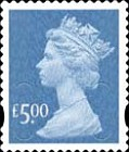 [Definitive Issue - Self-Adhesive Stamps with 2-Band Phosphor - Security Pattern Lettering in Background, Typ IB317]