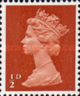 [Definitives - Queen Elizabeth II, type IB6]