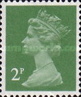 [Queen Elizabeth II. 2-Band Phosphor, type IB61]