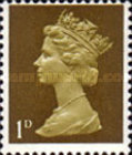 [Definitives - Queen Elizabeth II, type IB7]