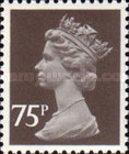 [Queen Elizabeth II. 2-Band Phosphor, type IB72]