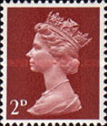 [Definitives - Queen Elizabeth II, type IB8]